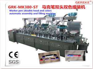 Full Automatic Production Line for Marker Pen with Double Head and Color with Glue pictures & photos