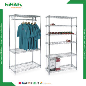 Quality Approval Adjustable Chrome Wire Shelving pictures & photos