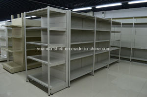 Cold Rolled Steel Gondola Heavy Duty Supermarket Furniture Shelf pictures & photos