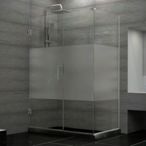 High Quality Heat Strengthened Frosted Bathroom Glass pictures & photos