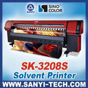 3.2m Sk-3208s Printing Machine with Seiko Spt510/35pl Printheads pictures & photos