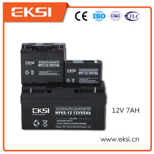 12V 7ah Maintenance Free Solar Battery for Solar Power System