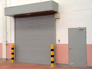 Automatic Roller Shutter Garage Door of Aluminum Alloy pictures & photos