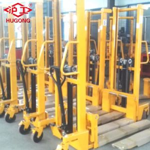 2 Ton 1.6m Hand Forklift Hydraulic Manual Stacker pictures & photos