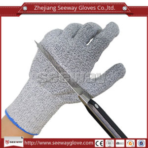 Seeway Hhpe Cut Resistant Industrial Safety Work Gloves with Ce