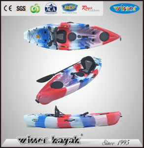 Winner New Designed Single Plastic Sot Fishing Kayak pictures & photos