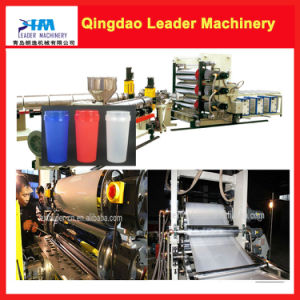 for Plastic Cup PP PS Thermoforming Sheet Extrusion Machine pictures & photos