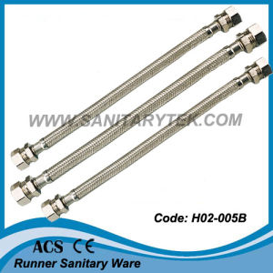 Stainless Steel Braided Flexible Hose (H02-005B) pictures & photos
