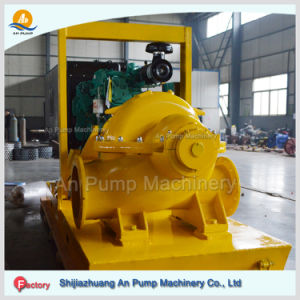 Horizontal Centrifugal Twin Impeller Energy Saving High Flow Rate Water Pump pictures & photos
