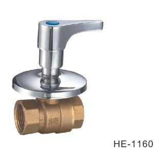 (HE1160) Brass Ball Valve Pn30 with Wing Handle for Water, Oil pictures & photos