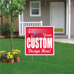 H Frame Holder Corrugated Plastic Political Corflute Yard Signs Coroplast pictures & photos