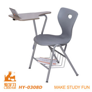 Hot Selling School Chair with Writing Table pictures & photos