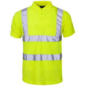 Reflective Safety Polo Shirt with En20471 (C2412) pictures & photos