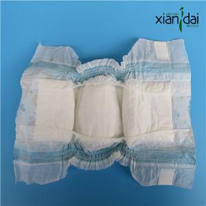 Economic Disposable Baby Diaper with PE Film