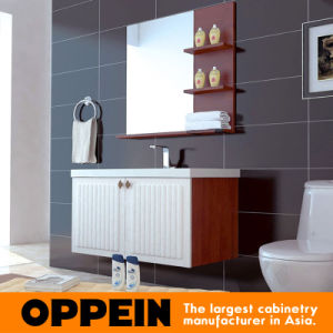 Oppein Modern White PVC Bathroom Cabinet (OP15-131A) pictures & photos