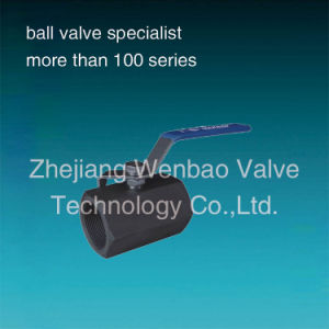 Wb-27 1PC High Pressure Forged Ball Valve pictures & photos