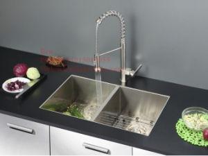 Kitchen Sink, Stainless Steel Sink, Handmade Sink, Sink, Undermount Sink, Topmount Sink, Stainless Steel Handmade Sink pictures & photos