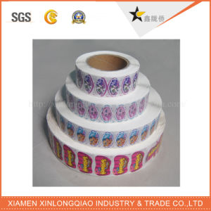 Carton Paper Printed Label Printing Decal Self-Adhesive Printer Sticker pictures & photos