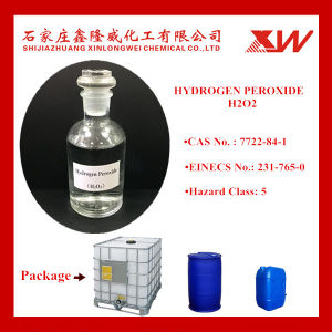 Factory Supply Hydrogen Peroxide 35% 50% pictures & photos