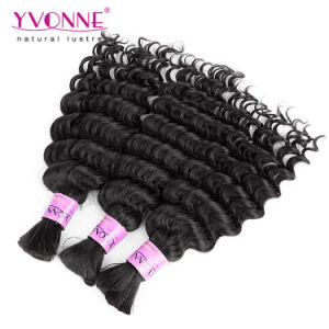 Deep Wave Brazilian Human Hair Bulk pictures & photos