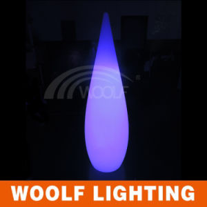 Rechargeable Wireless LED RGB Water-Drop Lamp pictures & photos