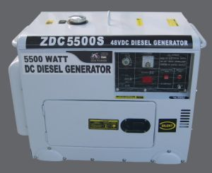 5kw Silent Type DC Diesel Generators (ZDC5500S) pictures & photos
