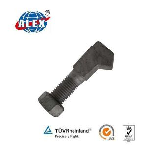 Odd Shaped Anchor Bolt with Plain Oiled Special Fastener