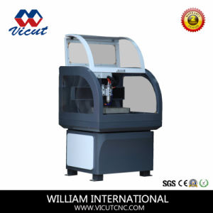 Industrial Machine CNC Router Mini Engraver Small Carving Machine (VCT-6040A/C/R) pictures & photos