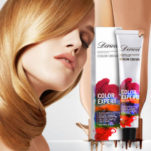 High Quality Glitter Hair Color No Allergy Low Ammonia Natural Permanent Hair Dye pictures & photos