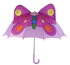 Manual Open Butterfly Shape Kids Umbrella (BD-75) pictures & photos