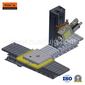 The First Six Axis Horizontal Boring and Milling Machine Center of Chinese R&D pictures & photos