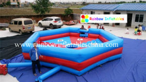 Top Sale Cheap Inflatable Mechanical Bull Mattress for Sale pictures & photos