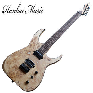 Hanhai Music / 6 Strings Electric Guitar with Ash Body and Maple Veneer pictures & photos