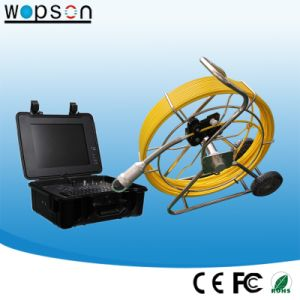 120m Push Rod Camera Pan Tilt Rotate Inspection Camera with Camera on Compataible Skids pictures & photos