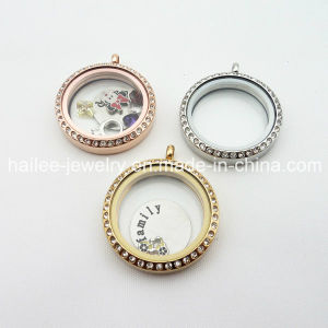 High Quality Stainless Steel 25mm 30mm Floating Locket Pendants pictures & photos