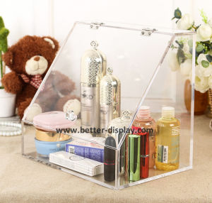 Clear Acrlyic Plexiglass Makeup Organizer pictures & photos