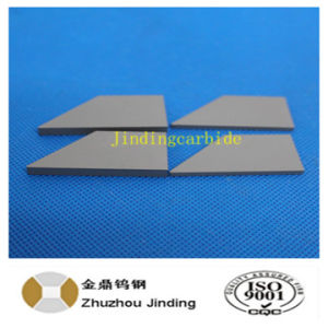 Zhuzhou Jinding Manufacturer Cemented Tungsten Carbide Blade for Agriculture Tillage Tool pictures & photos