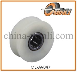 Plastic Pulley with Bearing for Window and Door (ML-AV047) pictures & photos