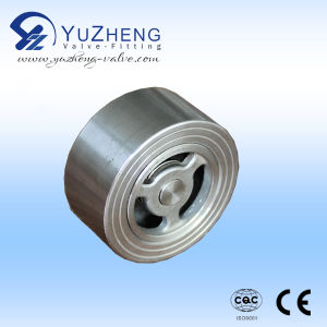 Stainless Steel 304 Wafer Type Check Valve pictures & photos