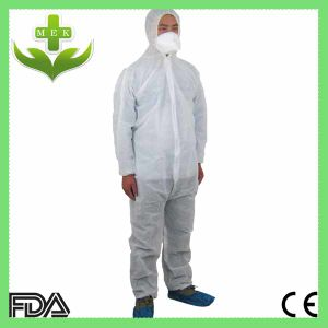 Disposable PP Non Woven White Coverall pictures & photos