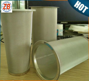 Stainless Steel Wire Mesh Metal Cone Basket Coffee Filters pictures & photos