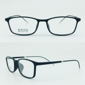 Factory Sell Super Light Half Plastic Steel Fashion New Design Optical Frames Glasses Eyewear pictures & photos