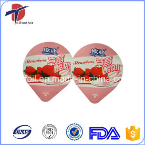 Heat Seal Foil Lid For Yoghurt Tub pictures & photos
