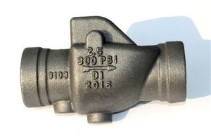 The Filter Valve Body, Valve Body, Valve Part, Iron Casting, Casting Part