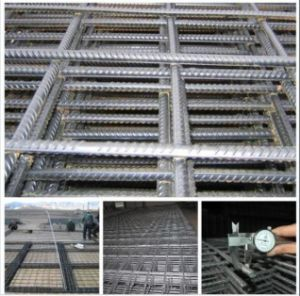 F62 F72 F82 Ribbed Reinforcing Mesh/Concrete Reinforced Steel Bar Mesh pictures & photos