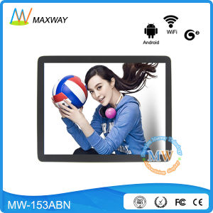 15 Inch 4: 3 Android 3G Digital Signage Display for Advertising pictures & photos