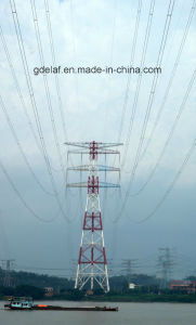 Certificated 500kv Electrical Lattice Steel Tower