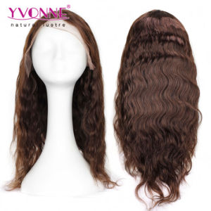 Fashionable Body Wave Human Hair Lace Front Wig pictures & photos
