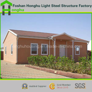 Durable Light Steel Prefabricated House Container House for Living pictures & photos
