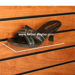Wholesale Clear Plastic Acrylic Wall Mounted Shoe Racks pictures & photos